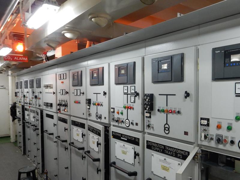 test manutenzione su navi